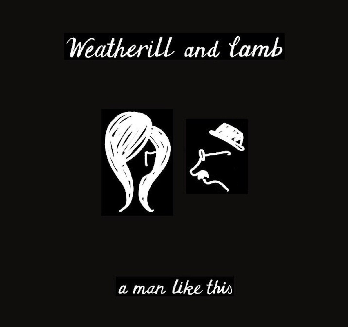 album cover for a man like this
