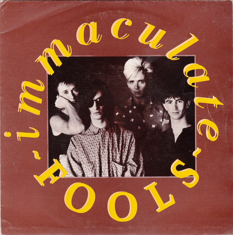 Photo of Immaculate Fools single sleeve