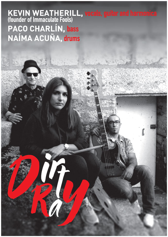 Poster for Dirty Ray with Naima Acuna and Paco Charlin